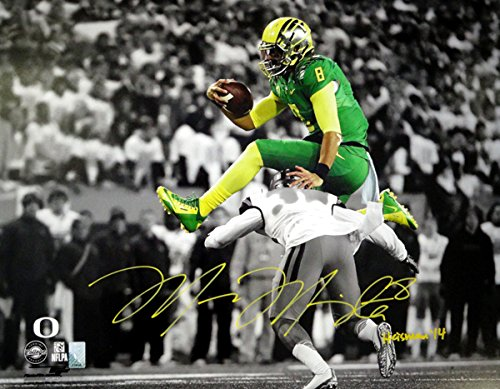 Marcus Mariota Autographed 16x20 Photo Oregon Ducks