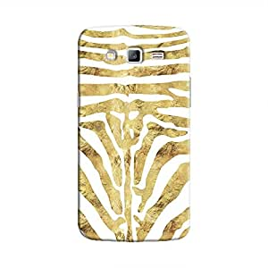 Cover It Up - Brown Zebra White Galaxy Grand 2 G7106 Hard Case