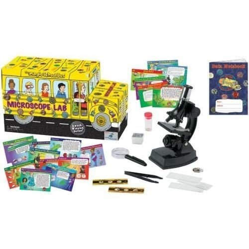 Nceonshop(TM) The Magic School Bus - Microscope Lab New (Magic Microscope Bus)