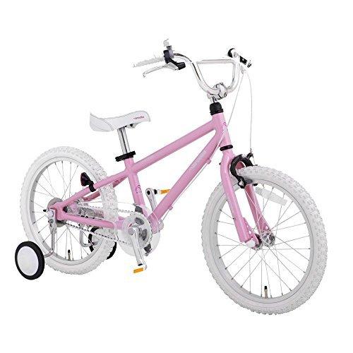 【完全組立出荷】Arcoba 子ども用自転車 2018年モデル16インチ 軽量 arcoba フルオプション(4点サービスセット) 子供用自転車 アルミフレーム幼児車 アルコバ 子供用自転車  可愛い 子供 セール キッズ 入学祝い 小学校 女の子 入園祝い B06XDJGJLQピンク