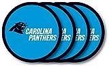 Carolina Panthers Coaster 4 Pack Set