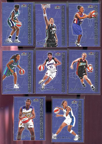 1999 Hoops Skybox WNBA Basketball Card Building Blocks Complete Set Dawn Staley