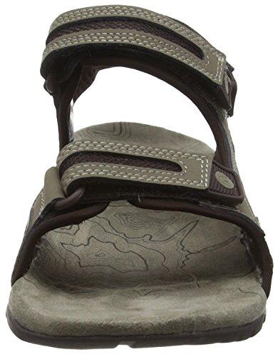 Aluminium Men's Boulder Sandspur Sandals Merrell Oak zSpwqCxX