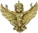 inCAREofGOD Religious Wall Hanging Brass Metal Figure Garuda Bird Eagle Statue