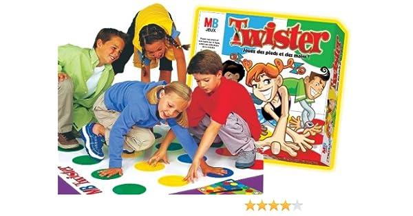 MB jeux – Juego de Tablero para niños – Twister: Amazon.es: Juguetes y juegos