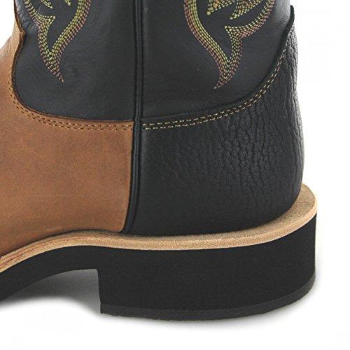 Fb Mode Laarzen Justin Boots 5008 D Koffie / Mannen Western Rijlaarzen Bruin / Rijlaarzen / Western Riding Boot Koffie (breed D)