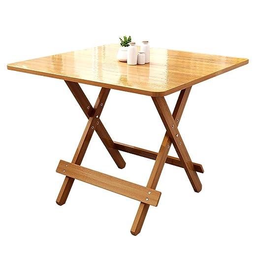 mesa plegable ZB Mesa De Comedor Casa Apartamento Pequeño Mesa ...