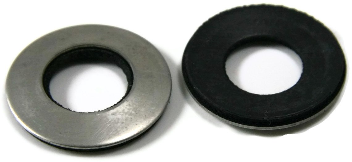 Neoprene EPDM Washers 18/8 SS - 1/4'' (OD .627) Qty-100