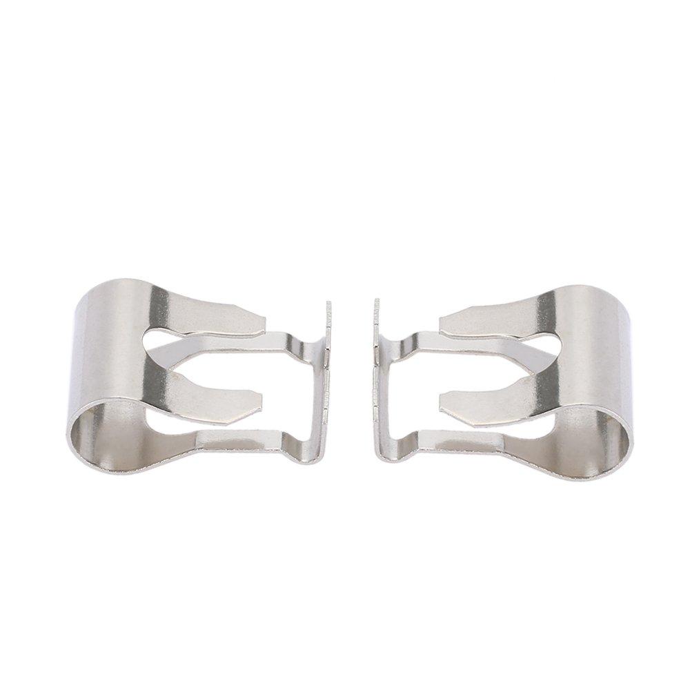 KKmoon Par de limpiaparabrisas motor vinculación Rods armas enlace mecanismo reparación clip Kit: Amazon.es: Coche y moto