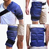 "Product review for Thermopeutic Premium Reusable Hot/ Cold Pack for Injuries and Pain Relief (15.5"" x 12"") - Extra Cold and Long Lasting Gel Formula - for Hip, Shoulder, Back, Knee & More"