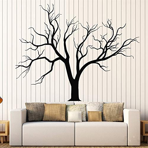 Decor Stickers Walls Art Words Sayings Removable Lettering Tree Gothic Nature Tree Branches Home Design Sticker Living Room Bedroom Home Decoration