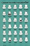 Comment vous sentez-vous aujourd'hui? Borgman (French) Mood Therapeutic Print Poster 18x24