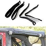 BUPP Rear Window Straps for Jeep Wrangler Jk Jku