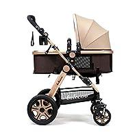 Baby Stroller Newborn Infant Foldable Anti-shock Pram Baby Stroller Toddler P...