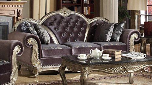 Meridian Furniture Roma Velvet Sofa