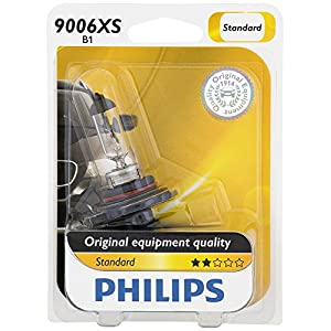 Philips 9006XS Standard Halogen Replacement Headlight Bulb, 1 Pack