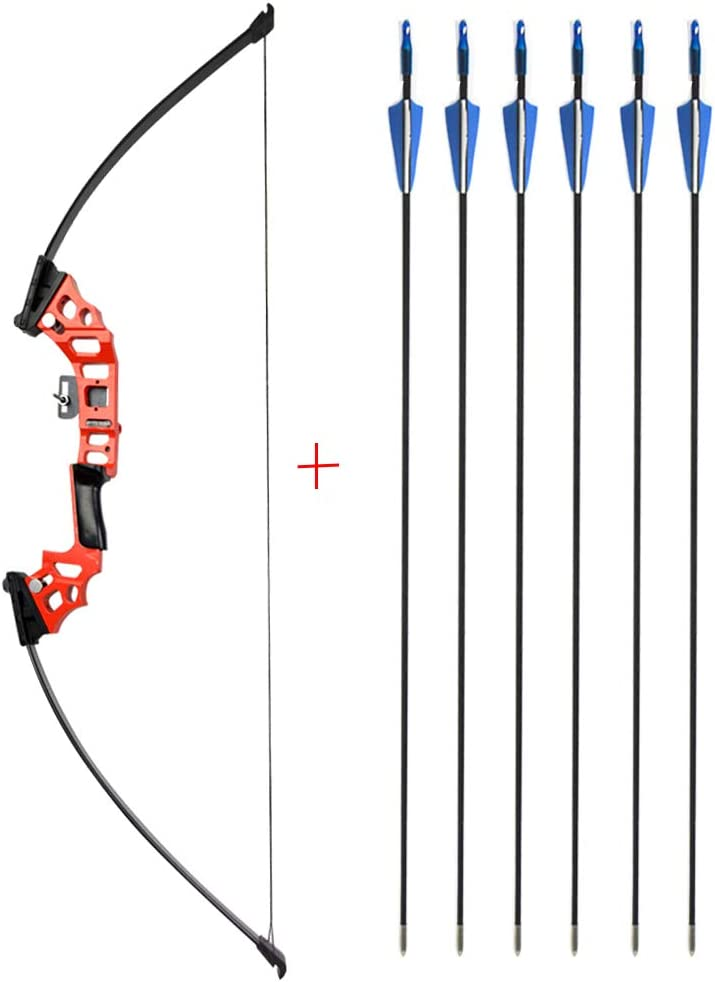 """53/"""" Archery 30-50lbs Straight Bow Recurve Takedown Bow Outdoor Practice Shooting"""