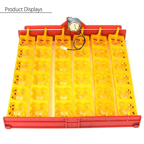 144/36 Chicken Eggs Incubator Automatic Duck Quail Bird Poultry Egg Incubator Tray