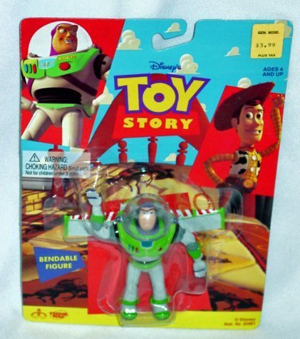 comprar ahora Juguete Story Buzz Buzz Buzz Lightyear Bendable Figura by Thinkway  popular
