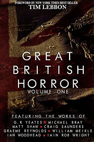 book cover of Great British Horror Volume 1