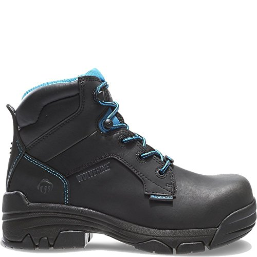 Image of Wolverine Women's Merlin 6 Inch Waterproof Comp Toe Work Boot