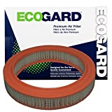 ECOGARD XA16 Premium Engine Air Filter Fits Mazda B2200, B2000 / Honda Accord / Ford Courier / Honda Prelude / Mazda 626, B1600, B1800, 808, Rotary Pickup