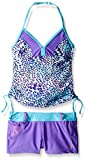 Free Country Girls' Sparkling Sea Halter Tankini