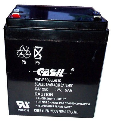 CASIL CA1250 OEM HONEYWELL (1 12/4 Ah Battery Backup)