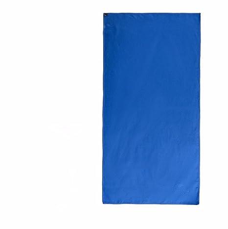 Velocidad de desplazamiento exterior toalla seca Toalla Gimnasia Deportes Toalla toallas toallas de baño 73x130cm azul