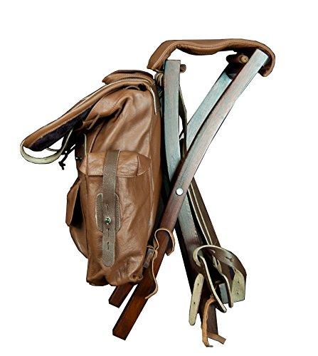 Famars USA Outdoor Multi-Purpose Rucksack Hunting and Fishing Backpack, Saddle Brown by Famars USA (Image #2)