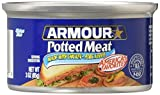 ARMOUR POTTED MEAT made with Chicken and Pork 3 oz (Pack of 12)