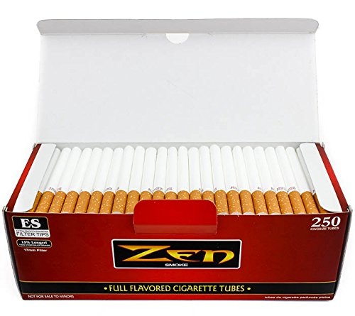 Zen Tubes 250 ct. Red King Cigarette Rolling Tubes