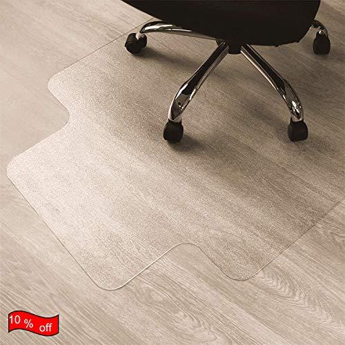 Hooden Hardwood Office Chair Mat for Carpet Surface Floor 48