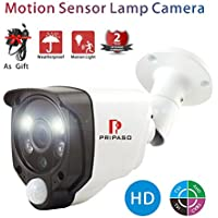 Motion Sensor Camera Smart Home Alarm Security Wired Camera 2.0MP 1080P, AHD/TVI/CVI/CVBS CCTV Camera with 100ft Night Vision