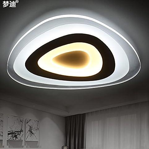 JJ Moderne LED Deckenleuchte getrennt wird dimmbar Deckenlampe ...