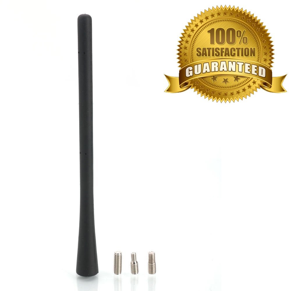 Amazon.com: 56038725AC Aluminum Short Power Antenna Replacement Mast 6 3/4-Inch Black for 2011 2012 2013 2014 2015 2016 Ram 1500/2010 2009 Dodge Ram 1500 ...