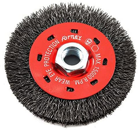 Milwaukee 6 in Crimped Wire Wheel Cup Brush Angle Grinder Grinding Tool Abrasive