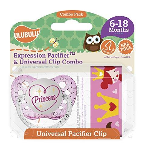 Ulubulu Princess Pacifier Universal months