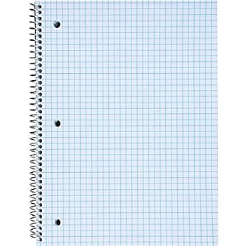 Amazon.Com : Silverpoint Top Wire Pad, Heavy Back, Quadrille Rule