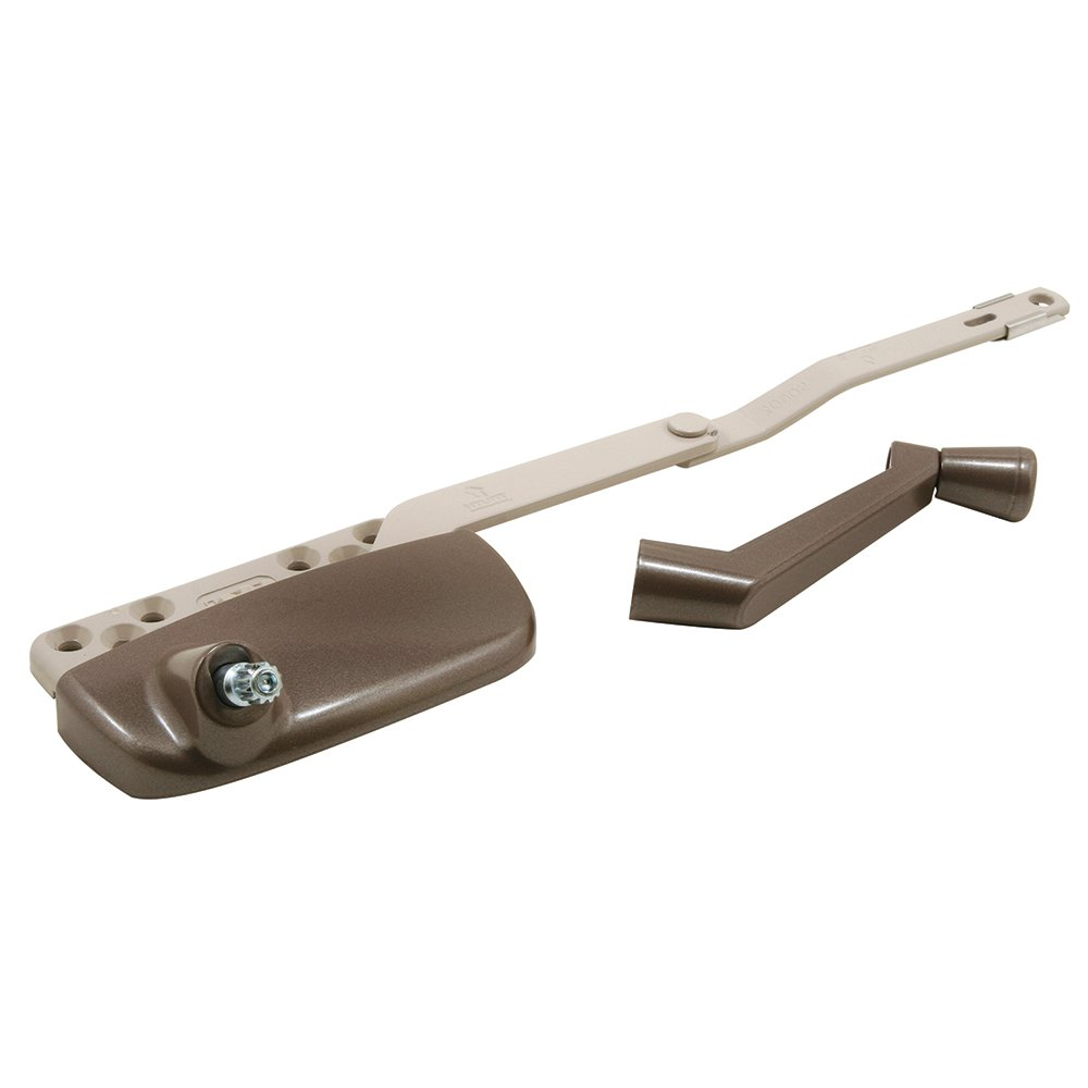 Prime-Line Products TH 24174 Truth Hardware Ellipse Dyad Operator with Crank, Left Hand, Bronze by Prime-Line Products