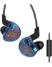 KZ® ZS10 - Auriculares de alta resolución con cable desmontable, cinco conductores