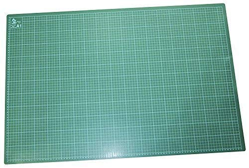 Garden Mile® A1 Green Self Healing Anti-Slip Cutting Mat with Grid Lines for Accurate Cutting Crafting (A1)