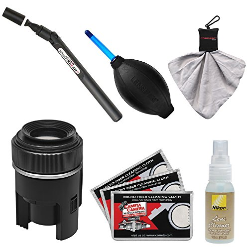 Lenspen SensorKlear II Pen with Loupe Cleaning System for Digital SLR Camera Sensors + Kit for Canon, Nikon, Fuji, Olympus,Panasonic, Pentax & Sony ILC/DSLR Cameras ()