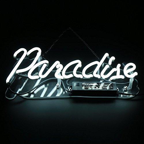 Neon Light Sign Paradise Neon Bar Sign Handmade Glass Neon