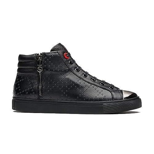 save off 4b32d 79d4d OPP Herren Leder Hohe Sneaker