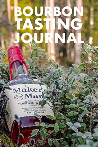 BOURBON TASTING JOURNAL: WHISKEY TASTING LOGBOOK, RATING, FLAVOUR WHEEL & COLOUR...