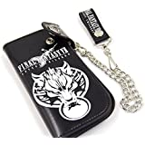Final Fantasy VII Black Long Wallet with Chain