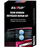 EASTUP Rear Window Defogger Defroster Grid Line Repair Kit