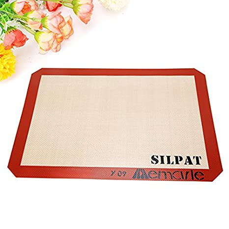 amazon com honana silicone non stick baking mat mough mat pad