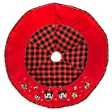 Disney Mickey Mouse and Friends Holiday Tree Skirt